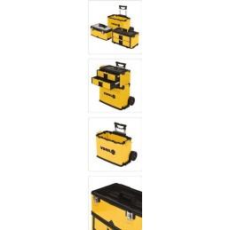 Dėžė įrankiams ant ratuku, 3 dalių VOREL Y-78738