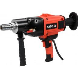 Įrenginys skirtas gręžti su deimantinias grąžtais 30-180mm, su aušinimu, 2200W. YATO YT-81980