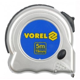 Ruletė 8m.x25mm. Magnetic-Nylon VOREL Y-11608