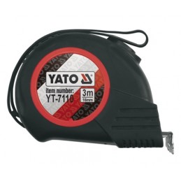 Ruletė 5m.x25mm. Magnetic-Nylon-Automatic YATO YT-7111