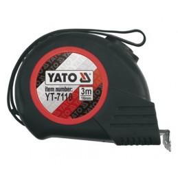 Ruletė 8m.x25mm. Magnetic-Nylon-Automatic YATO YT-7112