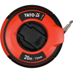 Ruletė 30m.x13mm. plieninė, II klasė YATO YT-71581