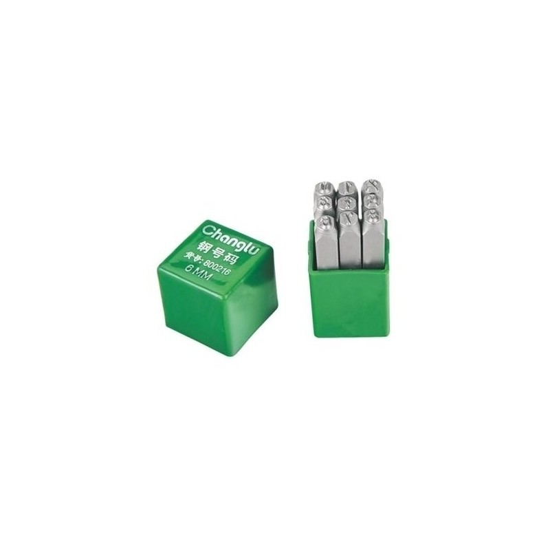 Skaičių žymeklių komplektas 4mm. 9vnt. CL800204