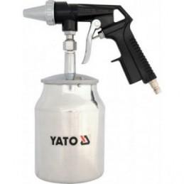 Pistoletas smėliavimui su apatiniu indu, aliuminis YATO YT-2376