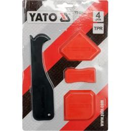 Sandariklio ir špakliuočių rinkinys 4vnt. silikonui YATO YT-5262