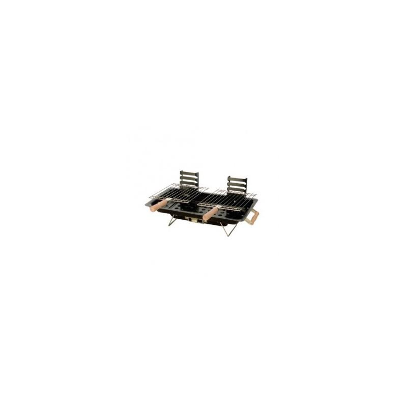 Barbekių rinkinys 25x43x5cm. kompaktiškas metalinis
