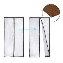 Užuolaida durims nuo vabzdžių 100X210cm. magnetinė ruda GARDEN LINE