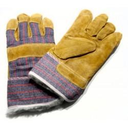Pirštinės, verstos odos, žieminės, pirštuotos 4203