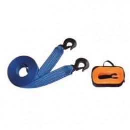 Diržas buksirinis su kabliais 4,5T, 50mm.x5m. THC13