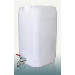 Kanistras vandeniui 30ltr. plastikinis su kranu