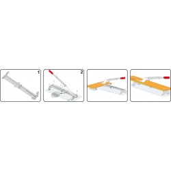 Prietaisas laminato pjovimui (giljotina) Yato YT-3730