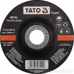 Diskas 115mm. metalo...