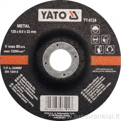 Diskas 125mm. metalo...