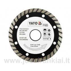 Diskas 115mm. deimantinis šlapiam-sausam pjovimui YATO 6022