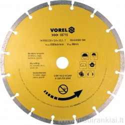 Diskas 230mm. deimantinis...