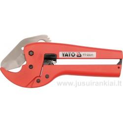 Žirklės PVC max-42mm. vamzdžiams kirpti Automatic YATO 2231