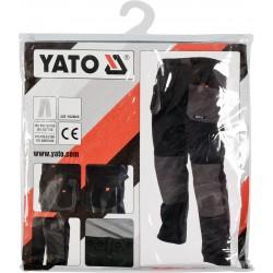 Kelnės darbinės juodos/pilkos YATO 80185-7