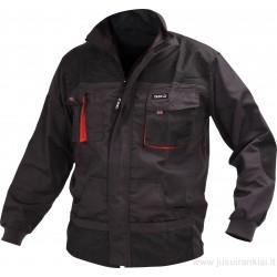 Švarkas darbinis juodas/raudonas YATO 80140-5