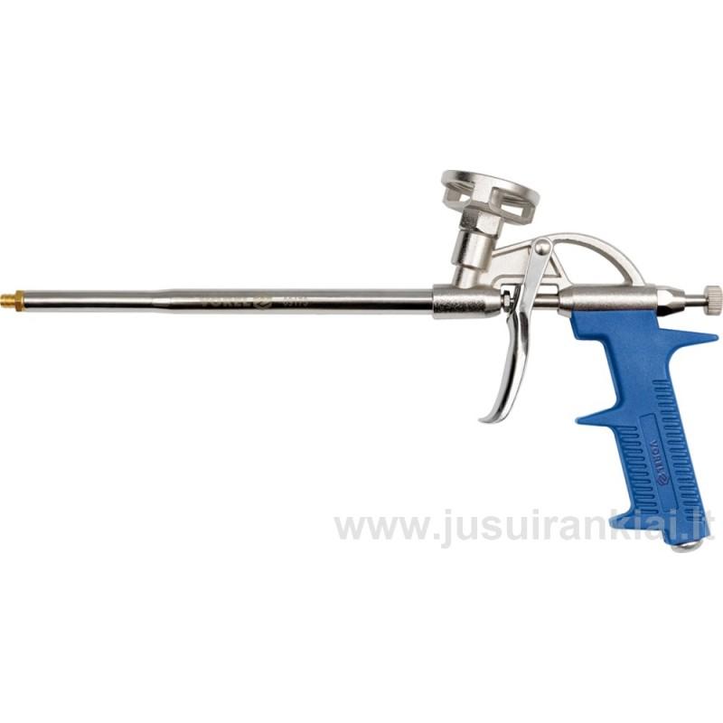 Pistoletas montažinėms putoms metalinis VOREL 09173