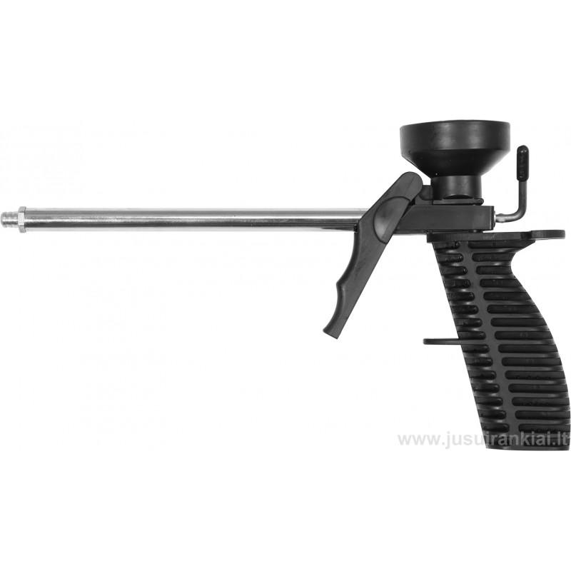Pistoletas montažinėms putoms plastikinis VOREL 09171