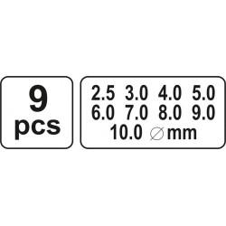 Kirstukai skylėms YATO 3590