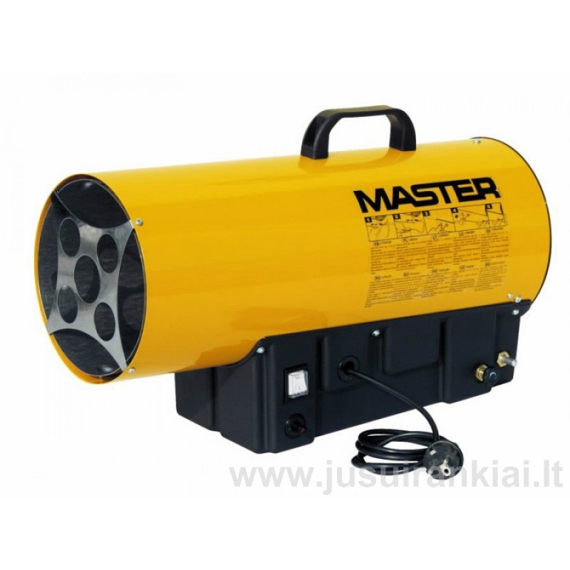 Master BLP 17M 16kW šildytuvas dujinis
