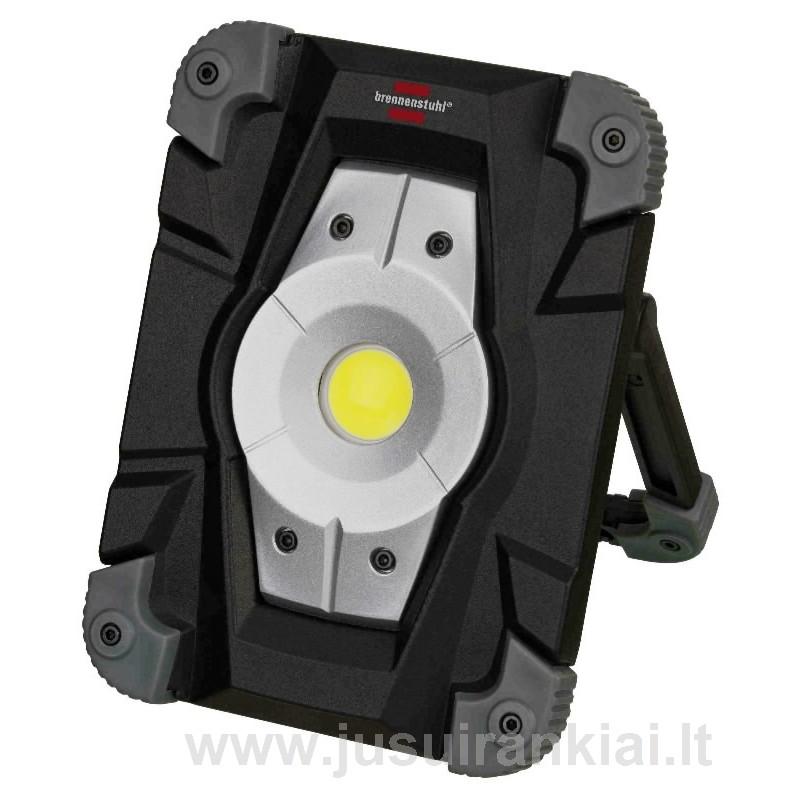 LED šviestuvas pakraunamas LED 20W 2000lm USB IP54 BRENNENSTUHL MLCA120M