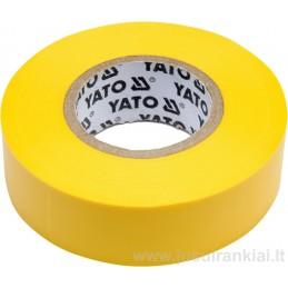 Izoliacinė juosta geltona YATO YT-81654