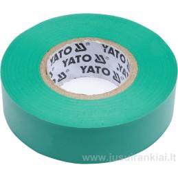 Izoliacinė juosta žalia YATO YT-81652