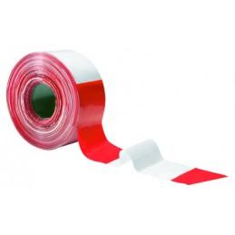 Juosta 80mm pavojingų zonų aptverimui raudona-balta STORCH