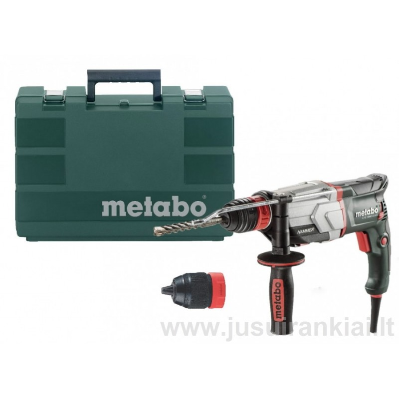 Perforatorius KHE 2660 Quick + papildomas griebtuvas METABO