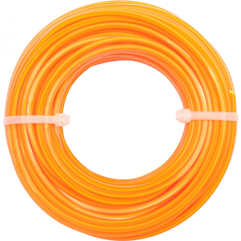 Valas trimeriui Ø2,4mmx15m kvadratinis su šerdimi FLO Y-89462