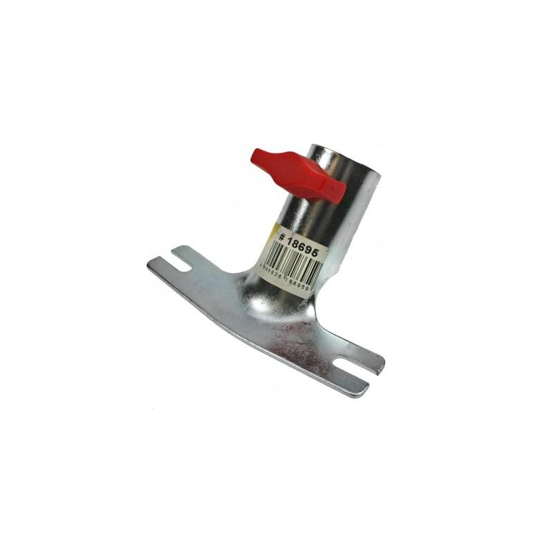 Laikiklis kotui Ø28mm metalinis su sriegiu ir varžtu PEGGY PERFECT