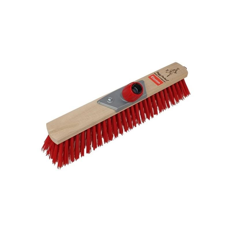 Šepetys grindims 40cm Elaston raudono pluošto PEGGY PERFECT PG-4215