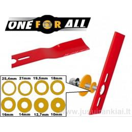 Universalus vejapjovės peilis 43cm lenktas OREGON 69-252