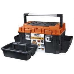 Dėžė įrankiams PATROL HD Trophy2 Plus, su metaliniu užraktu PA-5868