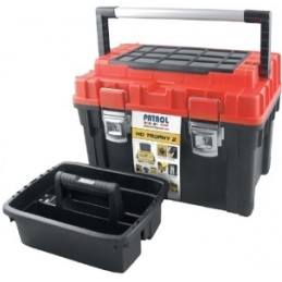 Dėžė įrankiams PATROL HD Trophy2, su metaliniu užraktu PA-2335