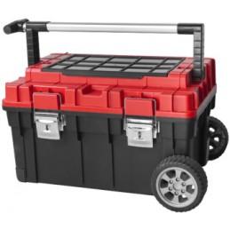 Dėžė įrankiams PATROL HD Trophy2, su metaliniu užraktu ir ratukais PA-8616