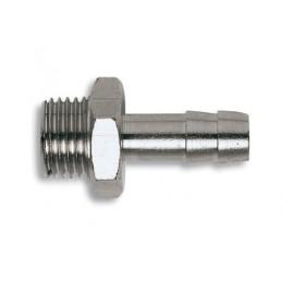 "Pneumatinė jungtis 1/4"" 6mm L-33mm, žarnai GAV GV1382"