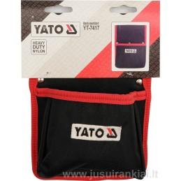 Diržo laikiklis-kišenė vinims, smulkiems įrankiams YATO YT-7417