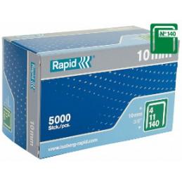 Kabės Nr.140, 6mm 2000vnt RAPID Nr.140
