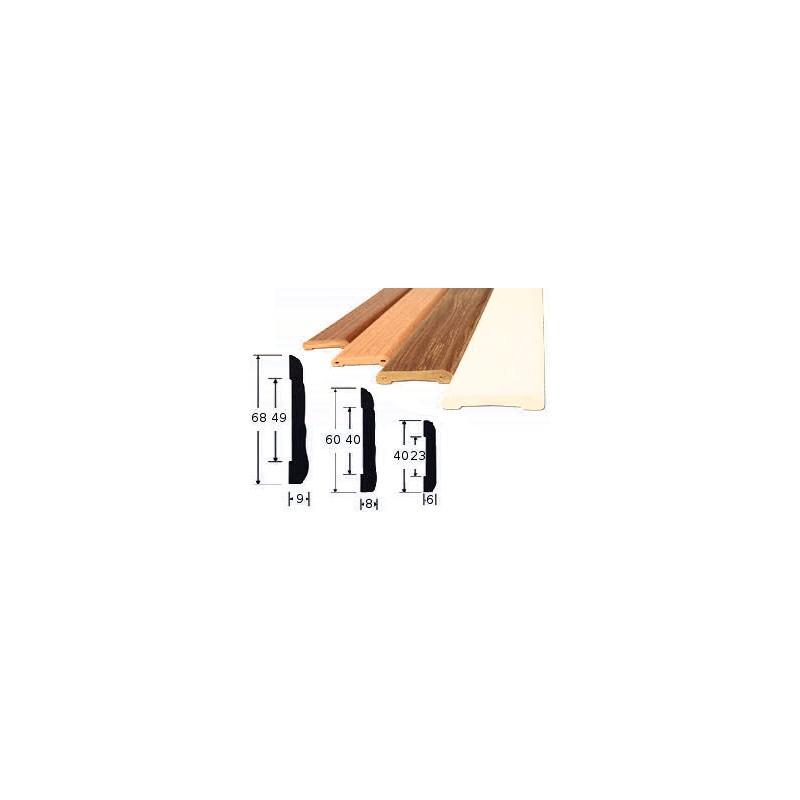Apvadas baltas 68mmx2,2m LEMAL 220680101