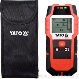 Detektorius metalui, srovei, profiliams ir medžio sijoms YATO YT-73131