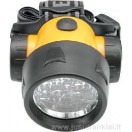 Prožektorius tvirtinamas ant galvos 17 LED VOREL Y-88671