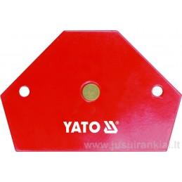 Laikiklis 64x95x14mm. magnetinis 11,5kg YATO YT-0866