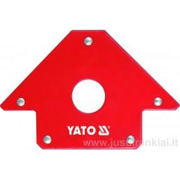 Laikiklis 102x155x17mm. magnetinis 22,5kg YATO YT-0864