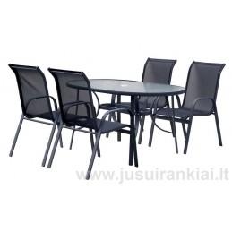 Lauko baldų komplektas EKONOMY SET 4