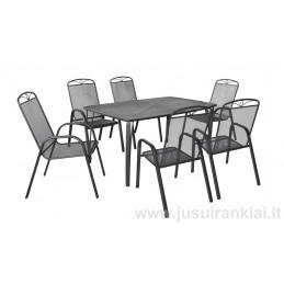 Lauko baldų komplektas HECHT NAVASSA SET 6