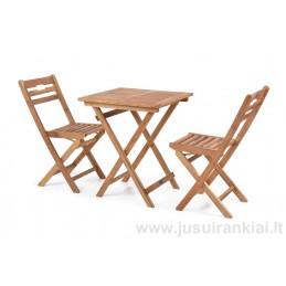 Lauko baldų komplektas HECHT BALCONY SET A