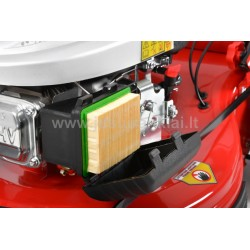 HECHT 5564 SXE 5 in 1 žoliapjovė benzininė, savaeigė 3,6kW